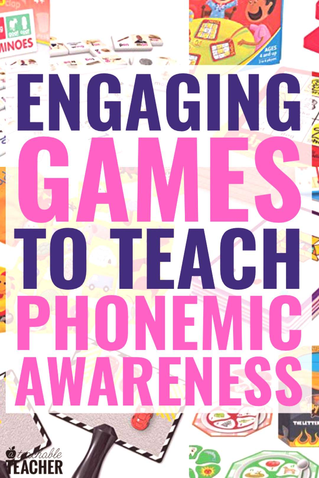 These engaging games are perfect for practicing phonemic awareness skils with new readers. They get