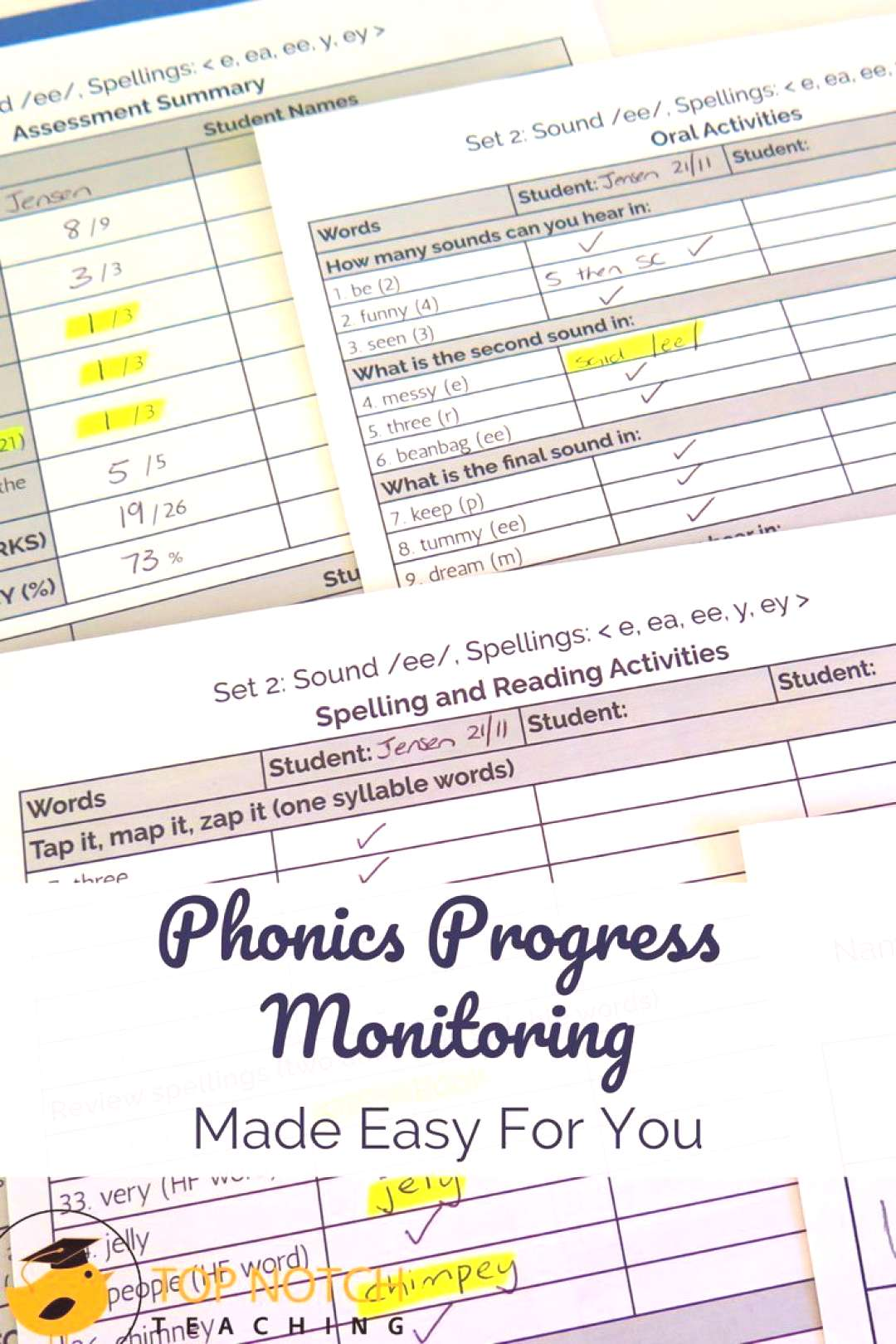 To judge whether your phonics program or intervention is working, you need data. To understand how