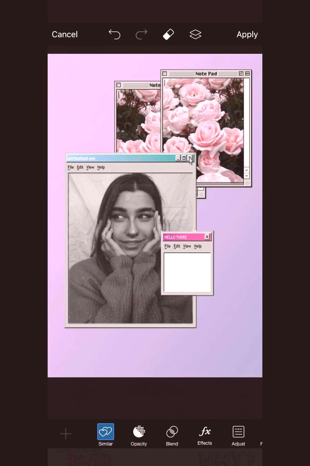 Tutorial Time! Throw It Back to the 2000s With a Computer Edit ?✨
