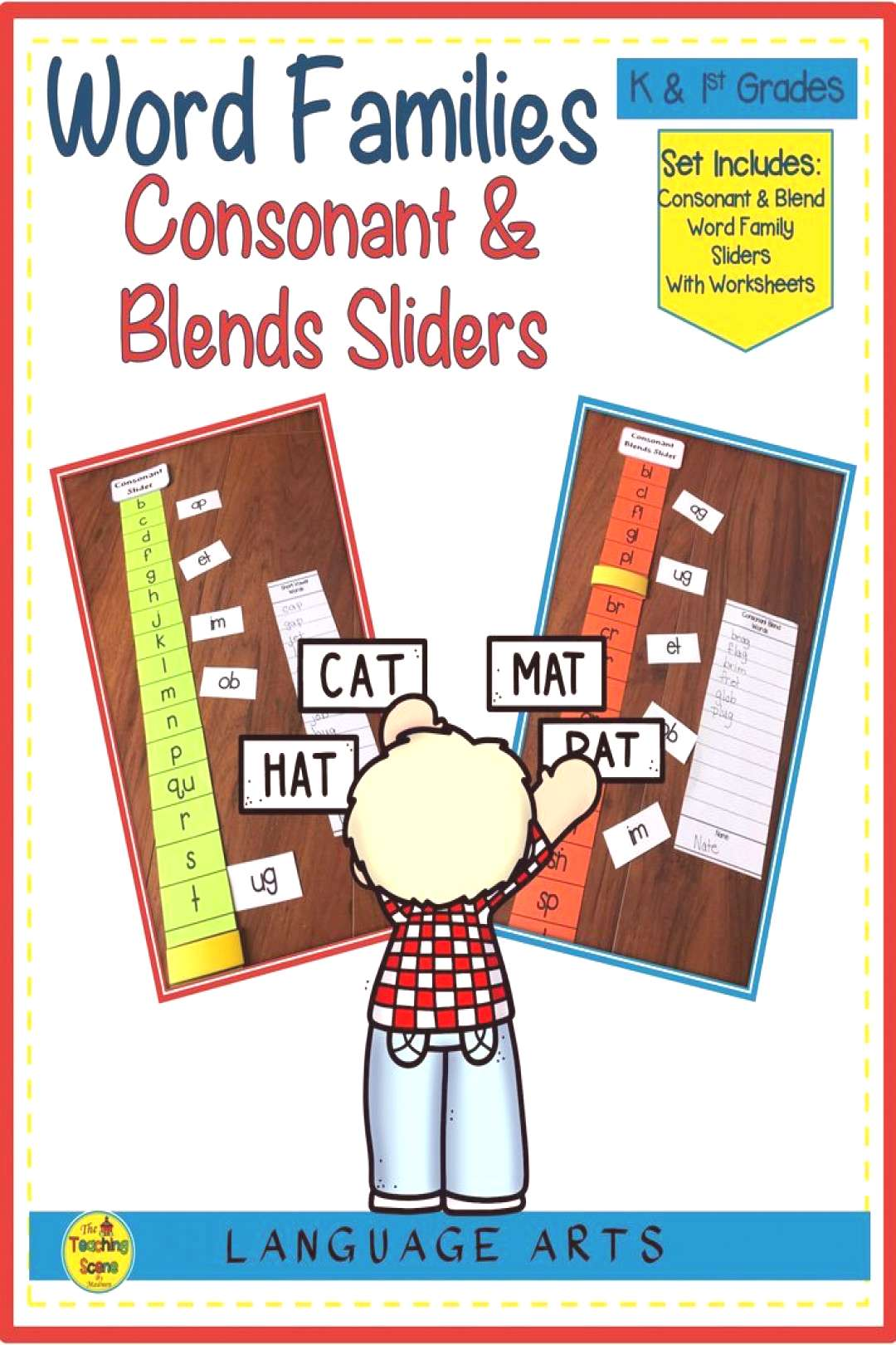 Word Family Consonant amp Blend Sliders Are you looking for an activity to enhance your student word