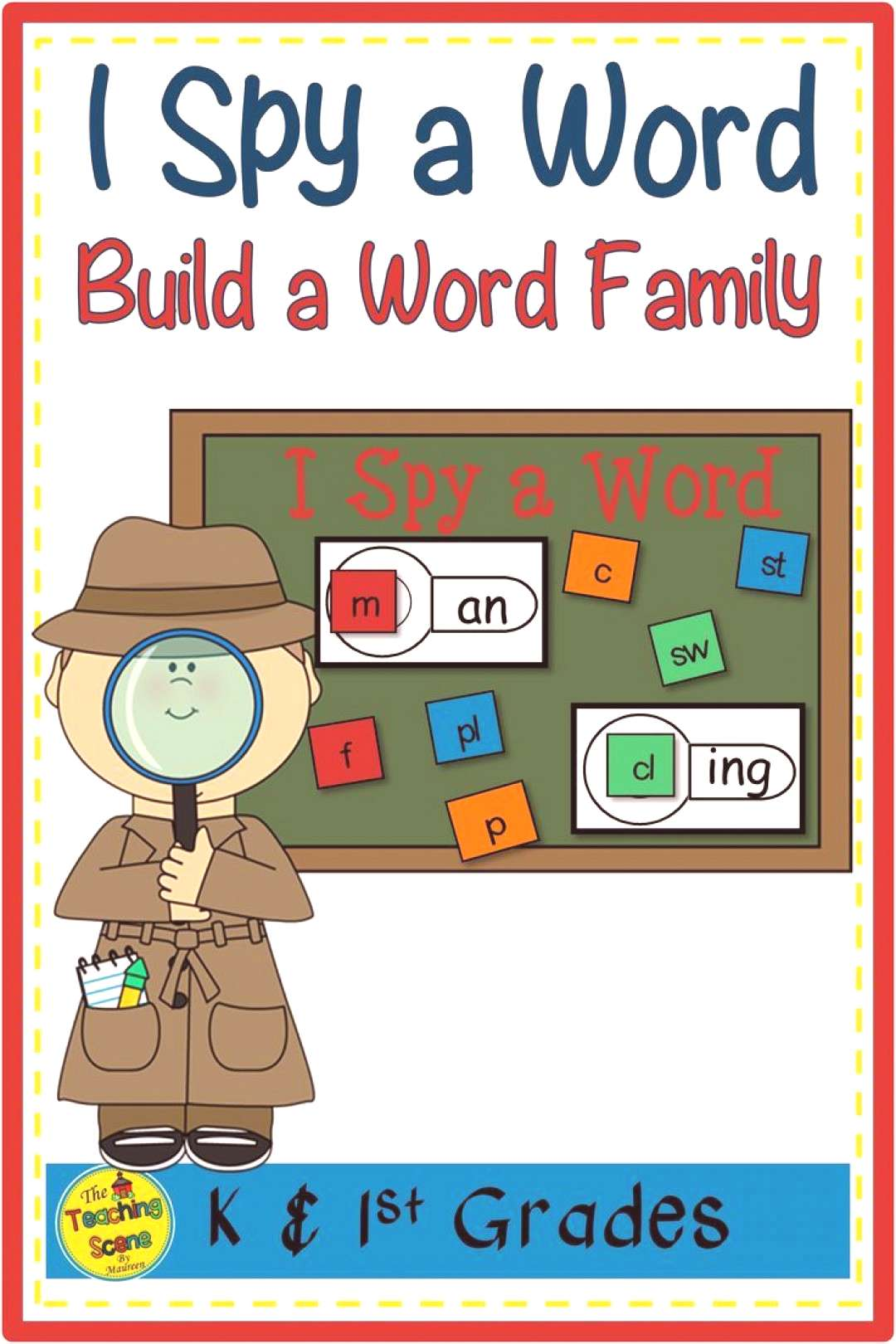Word Family Phonics Center I Spy a Word Are you looking for a way to improve students short vowel
