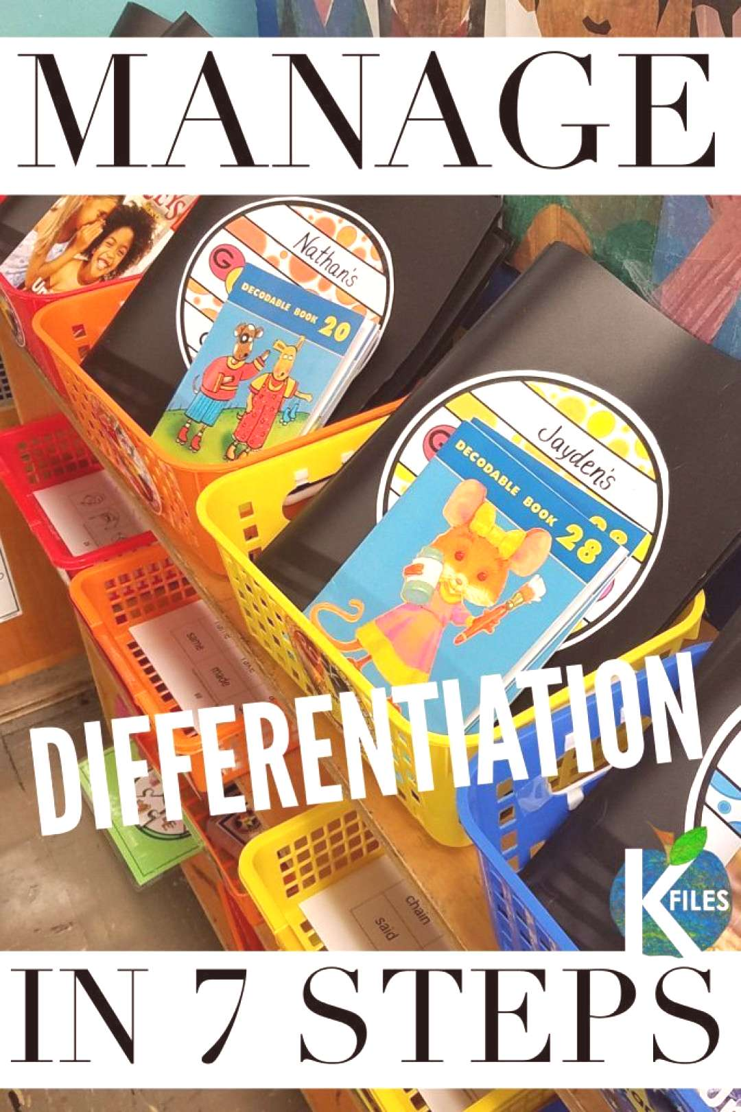 Words Their Way OUR Way PART 1 Getting Started - The K Files Differentiate your Word Study groups