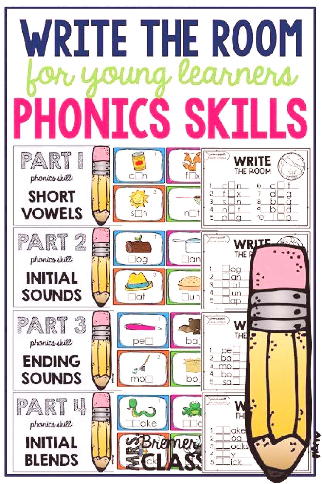 Write the Room Phonics pack. Write the Room Phonics pack. Your students will have fun expanding the