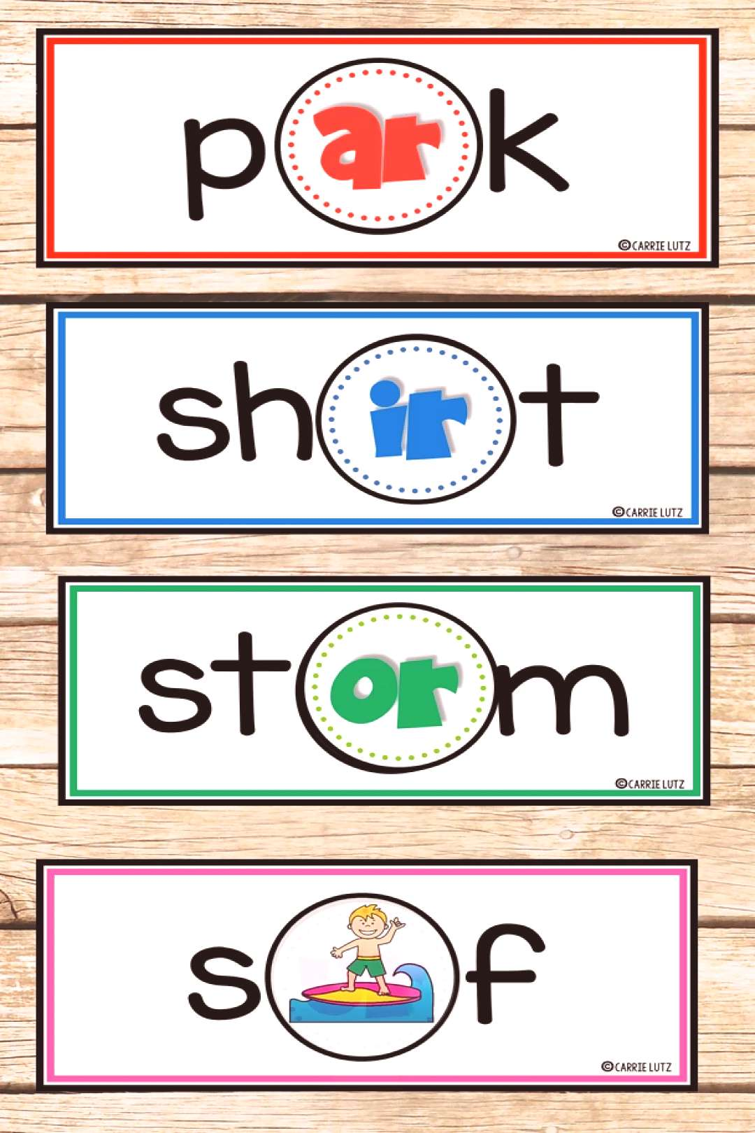 Your students will love this fun phonics activity! You will love how easy these are to make and the